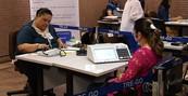 TRE-GO faz votação com cédulas de papel (TRE faz votação com cédulas de papel (Reprodução/TV Anhanguera))