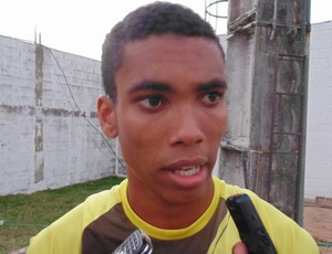 Madson, lateral do ABC (Foto: Jocaff Souza/GloboEsporte.com)