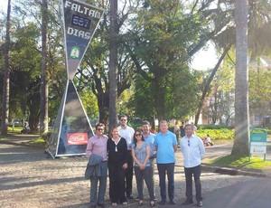 ingleses em Belo Horizonte (Foto: Divulgação / Assessoria Secopa/MG)