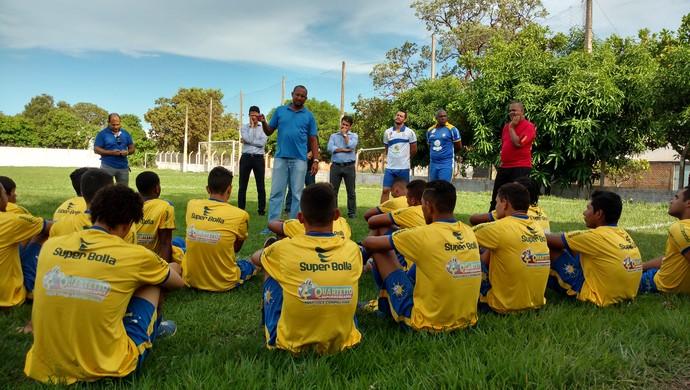 Técnico do Palmas (Foto: Cyntia Miranda/GloboEsporte.com)