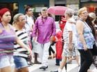 Milton Cunha comemora sucesso na TV: 'Levo a Sapucaí para a vida real'