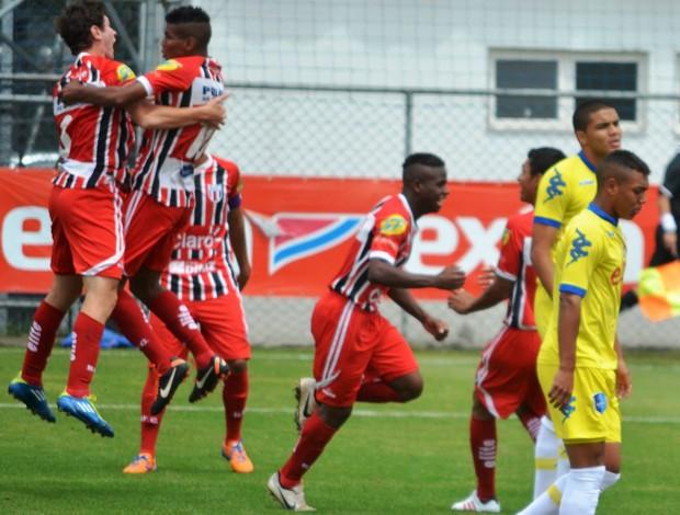 Equipe Sub-17 do Botafogo está nas quartas de final do Paulista (Foto: Rafael Martinez/Ag. Botafogo)