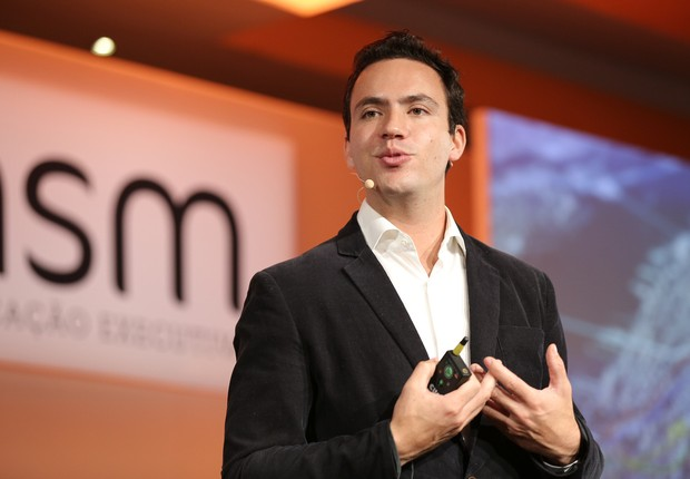 Guilherme Telles, General Manager do Uber no Brasil em palestra no HSM Summit (Foto: Divulgação)