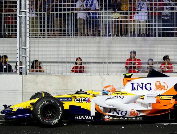 Nelsinho Piquet cingapura 2008 (Foto: Divulgação)