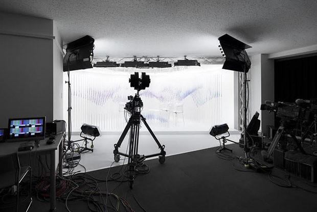 Nendo cria cenário que imita o céu para TV japonesa (Foto: Divulgação)
