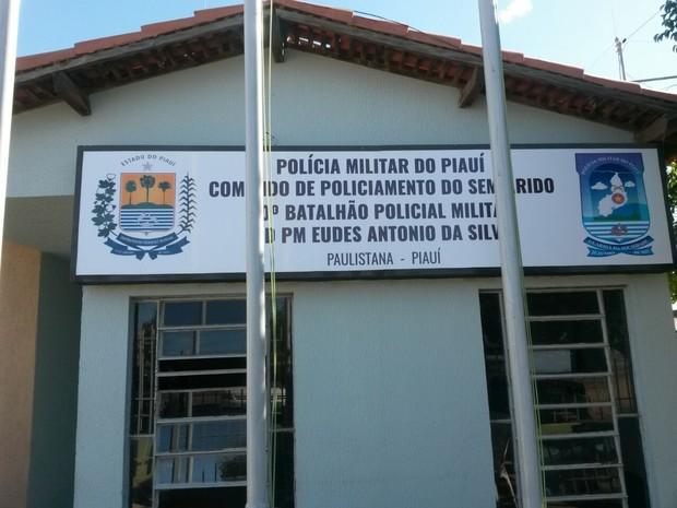 Batalhão de Polícia de Paulistana (Foto: Divulgação/PM)