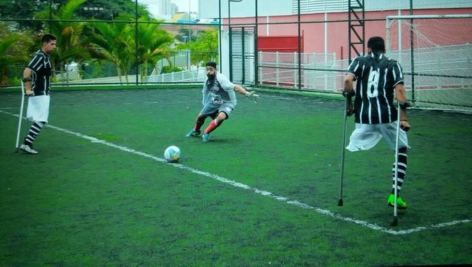 Corinthians Mogi futebol amputados (Foto: Arquivo Pessoal / Rogério Almeida)