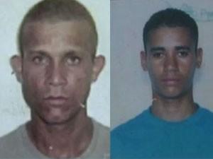 Leandro e Ludenildo morreram no acidente com o carro alegórico (Foto: Reprodução/TV Tribuna)