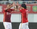 Goulart e Alan decidem, e campeão Guangzhou fecha Chinês com goleada