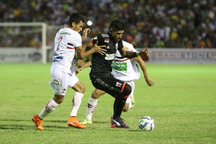 Canela River-PI x Botafogo-SP (Foto: Rogério Moroti / Agência Botafogo)