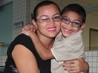 Mãe muda para cuidar de filho com paralisia  (Patrícia Andrade/G1)