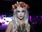 Famosos capricham na fantasia em festa de Halloween em São Paulo