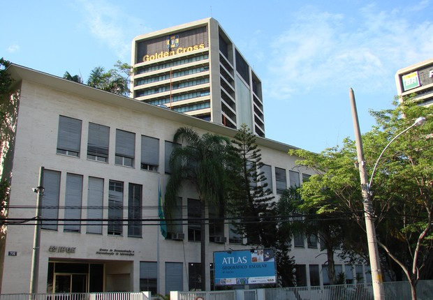 Sede do Centro de Documentação e Disseminação de Informações do IBGE (Foto: Wikimedia Commons)
