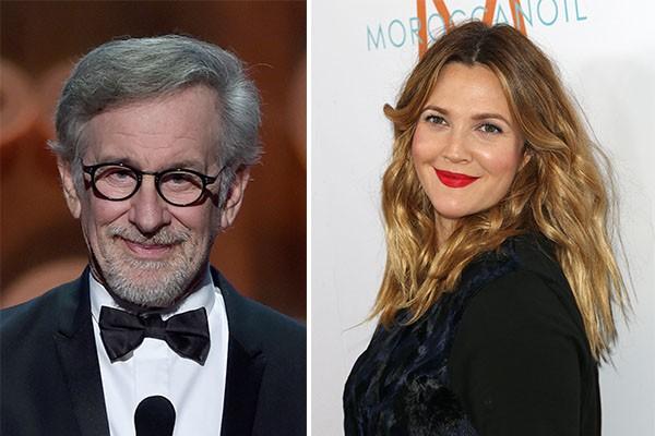 Além de Gwyneth, Steven Spielberg apadrinhou a estrela de 'Titanic', Drew Barrymore (Foto: Getty Images)