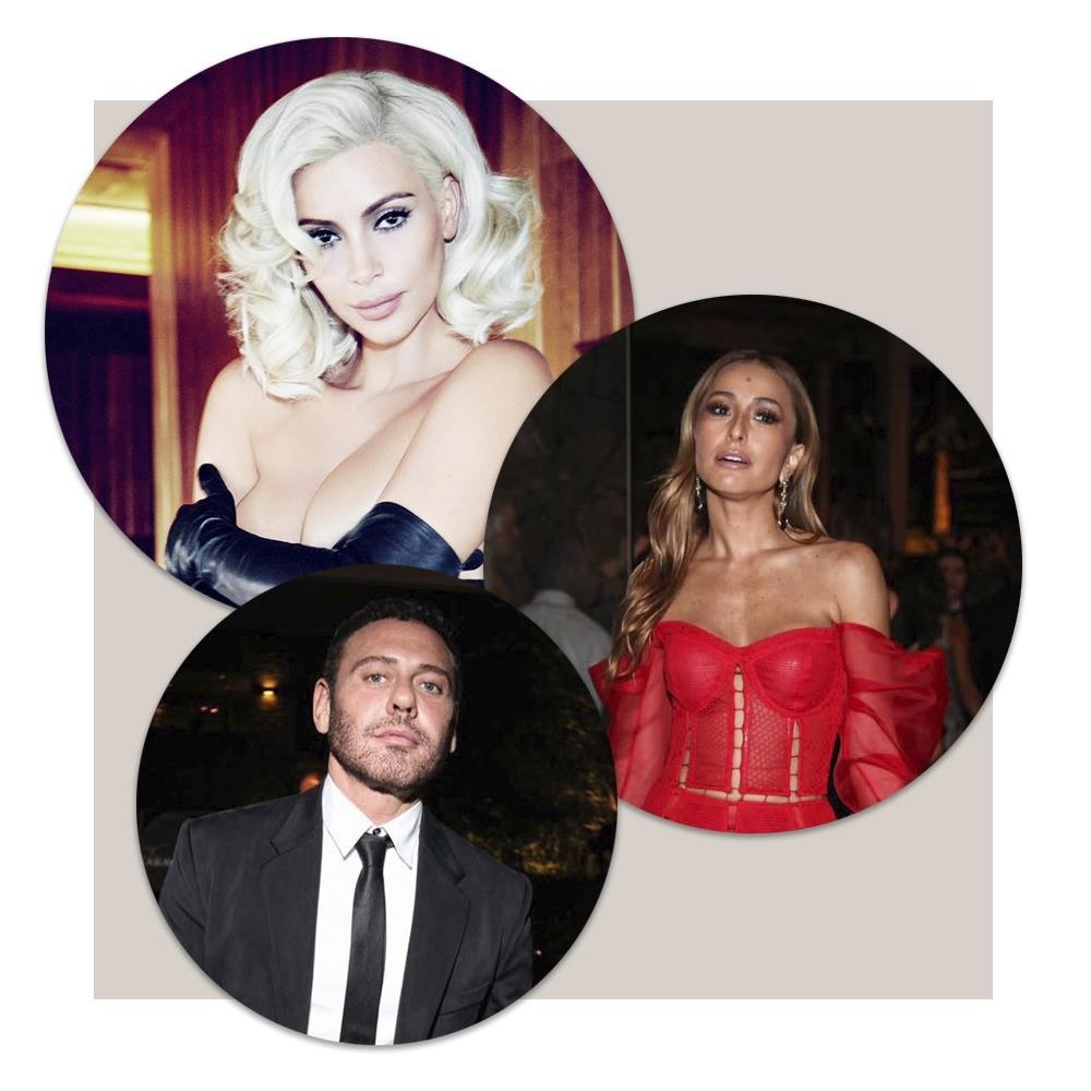 Kim, Mert Alas e Sabrina (Foto: Arquivo Vogue)