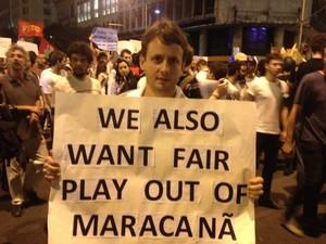 Mongomery pede fair play também na política (Foto: Luís Bulcão/G1)
