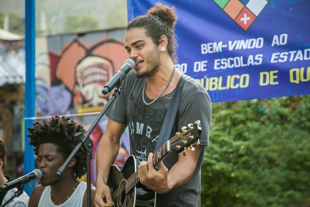 Enzo Romani (Foto: Globo/Paulo Belote)