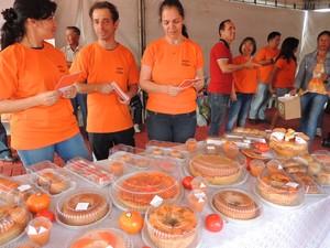 Diversas iguarias foram apresentadas aos visitantes do Varejão em Mogi das Cruzes (Foto: Jenifer Carpani/G1)