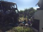 Tragédia com ônibus mobiliza solidariedade em Teodoro Sampaio