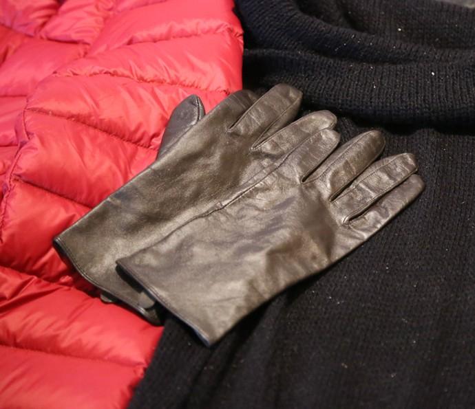 As luvas são essenciais para não congelar as mãos! (Foto: Thiago Fontolan / Gshow)