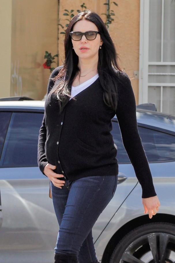 Laura Prepon grávida (Foto: AKM/GSI)