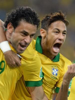 AO VIVO: Brasil 1 x 0 Espanha (Vanderlei Almeida/AFP)