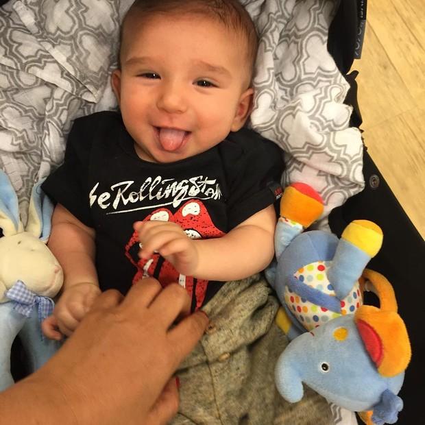 Benjamim, filho de Susana Alves (Foto: Reprodução/Instagram)