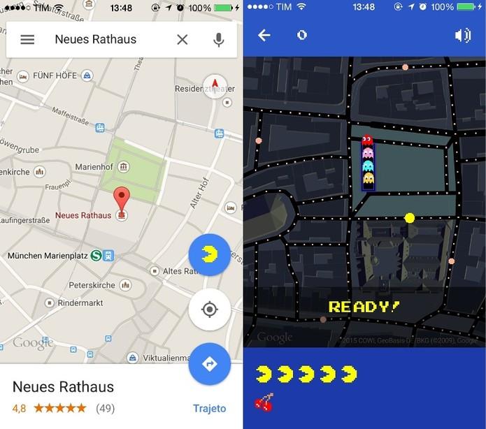 Hallo Heute! Jogue Pac-Man em um dos países mais importantes da Europa (Foto: Reprodução / Laura Martins)