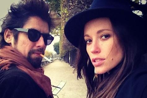 Juliana Didone e o namorado, Flávio Rossi (Foto: Reprodução)
