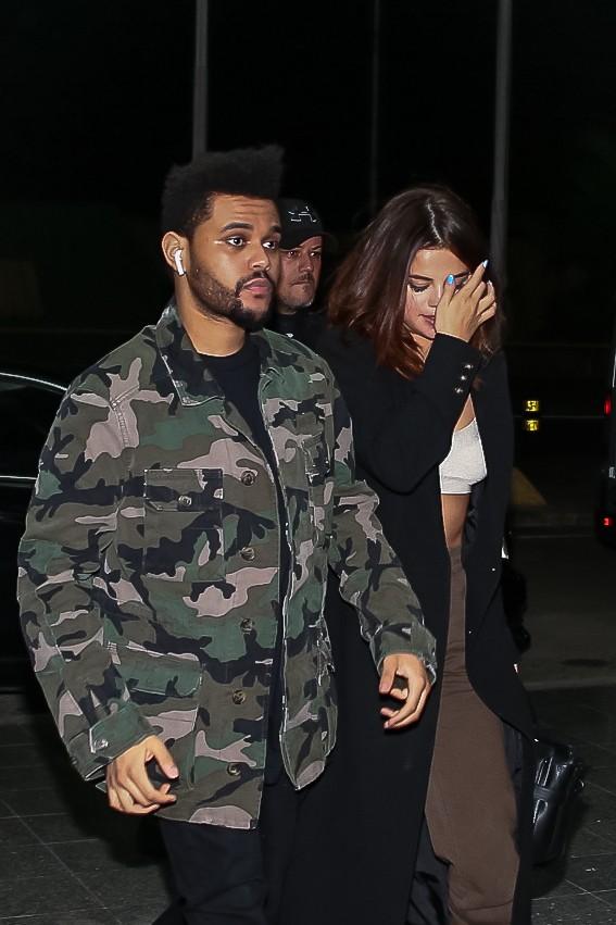 Selena Gomez e Weeknd (Foto: Raphael Castello/ AgNews)
