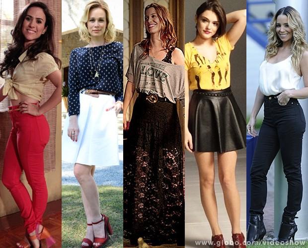 Cintura Alta Volta Moda E Personagens Das Novelas Aderem Modelagem Foto Vdeo Show