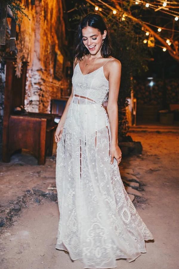 Vestido de Bruna Marquezine (Foto: Instagram/Reprodução)
