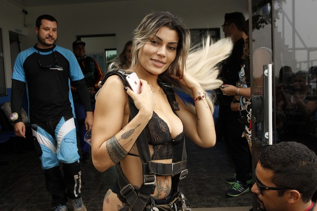 Candidatas a Miss Bumbum (Foto: Celso Tavares / EGO)
