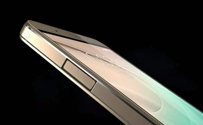 Modelo também traz sensor biométrico na lateral (Foto: Divulgação)