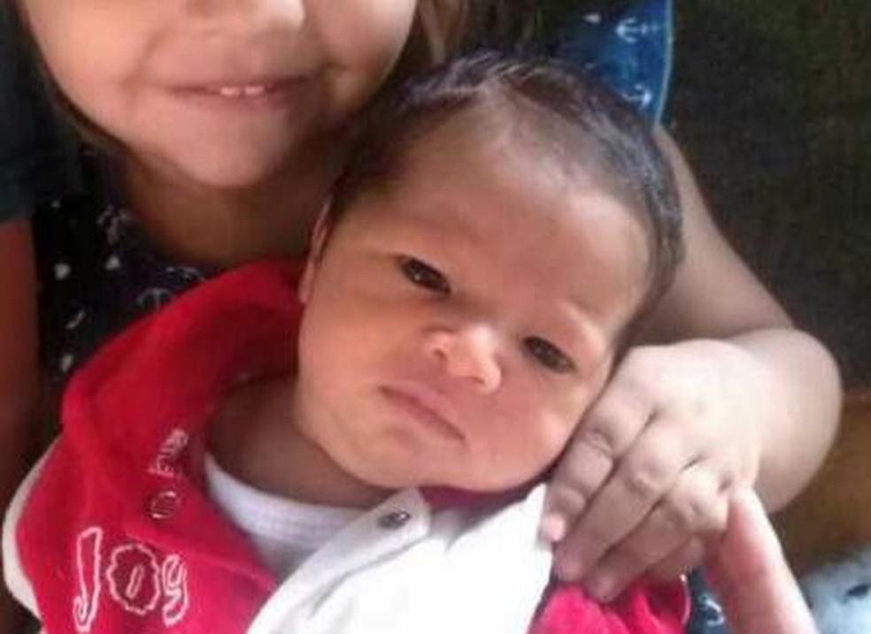 Bebê de 3 meses foi morta pelo próprio pai (Foto: G1 Santos)