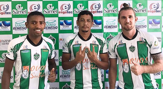 Amaral Wanderley e He-man Manaus FC (Foto: Divulgação)