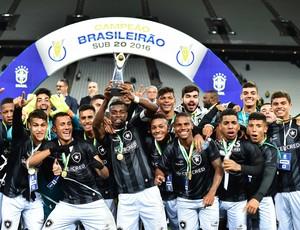 Comemoração Botafogo campeão brasileiro sub-20