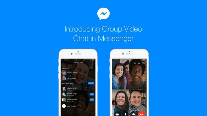 Novo Messenger faz chamadas de vídeo em grupos permite conversas com até 50 pessoas (Foto: Reprodução/Facebook)