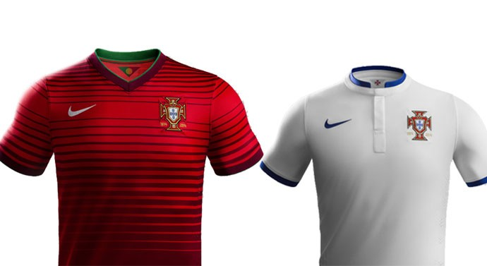 camisa Portugal Copa do Mundo Blog