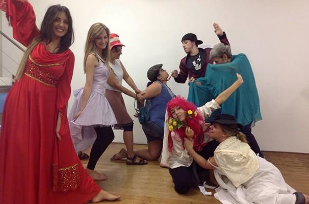 Os alunos da Teatro Escolha Macunaíma são os atores da Mostra Macunaíma de Teatro (Foto: Divulgação)