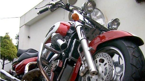 Motociclistas participam de festival em Ribeirão Preto (Foto: Reprodução de EPTV)