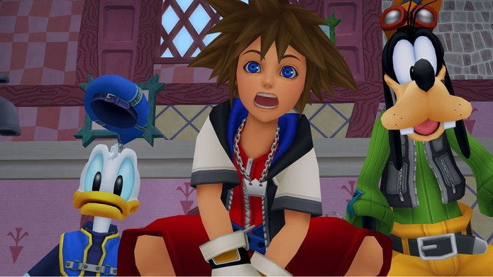 O inusitado Kingdom Hearts (Foto: Divulgação/Square Enix)
