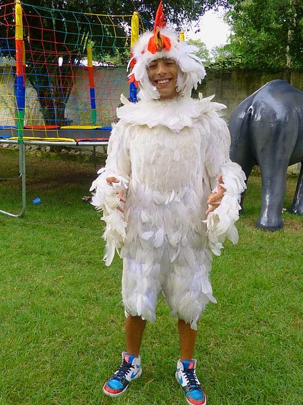 Pilha de galinha (Foto: TV Globo/Malhação)