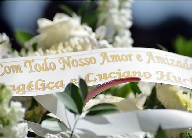 As flores enviadas por Luciano Huck e Angélica (Foto:  Claudio Manculi)
