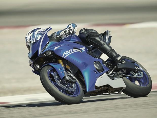 Yamaha YZF-R6 (Foto: Divulgação)