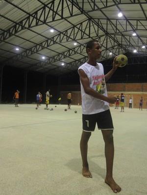 Euzébio - Caic Balduino Barbosa de Deus - Handebol - Olimpíadas Escolares (Foto: Josiel Martins/GLOBOESPORTE.COM)
