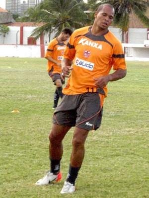 Aloísio Chulapa em treino do CRB (Foto: Assessoria de Imprensa)