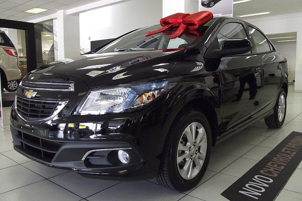 Novo Chevrolet Prisma já está disponível nas lojas (Foto: Autoesporte)