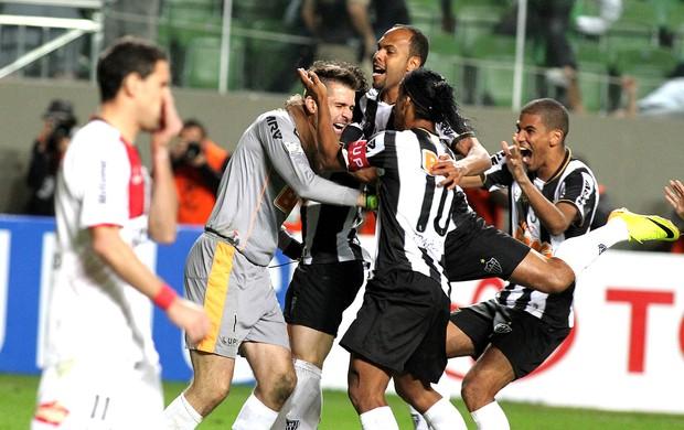 Victor comemoração vitória Atlético-MG (Foto: EFE)
