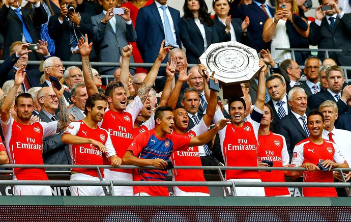 Arsenal Supercopa da Inglaterra (Foto: Reuters)